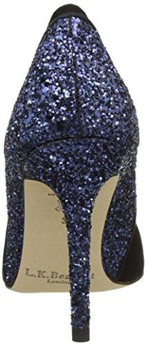 LK BENNETT Roselle, Escarpins Femme Multicolore (BLACK/NAVY)