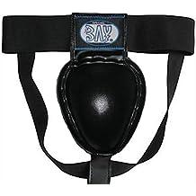 ADIDAS® Tiefschutz Kampfsport Kickboxen Muay Thai Thaiboxen schwarz Herren Mesh