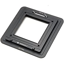 Joycorner® Jieying Adaptadores para Hasselblad V Mount Magazine Back To Arca 69 Adapter For Phase One Sinar Leaf Hasselblad