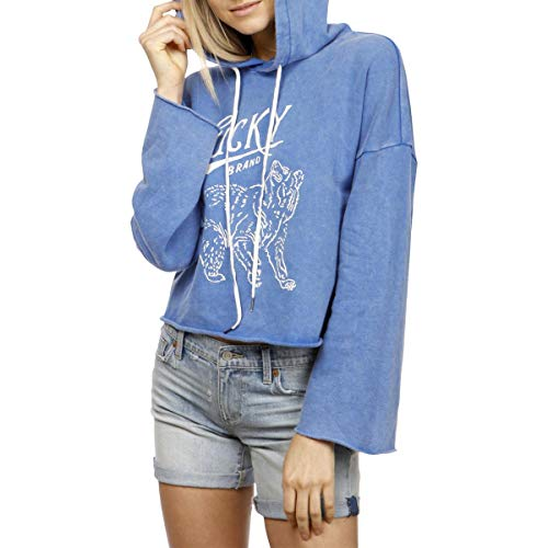 Lucky Brand Womens French Terry Printed Hoodie Womens French Terry Hoodie