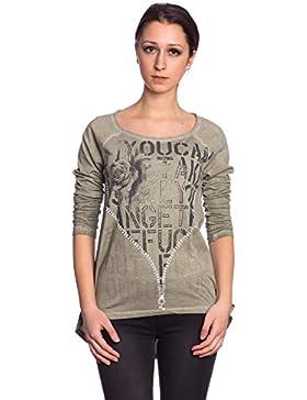 [Patrocinado]Abbino 716615 Camisas Blusas Tops Para Mujeres - Hecho EN Italia - 4 Colores - Entretiempo Primavera Verano Otoño...