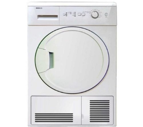 Beko DCU8230W 8kg Freestanding Condenser Tumble Dryer – White