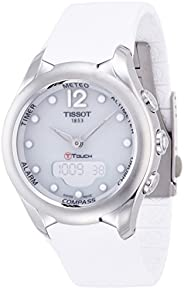 Tissot Women's White Dial Rubber Band Watch - T075.220.17.01