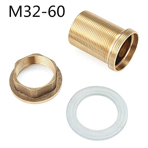 RanDal Küchenbecken-Mixer Tap Repair Fitting Kit Faucet Threaded Brass Tube Nut Parts - #3 -