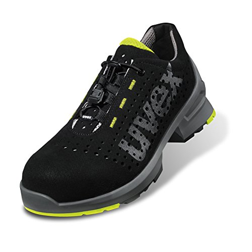 """Uvex - """"uvex 1"""" S1 SRC Chaussures De Sécurité Basses Schwarz"""