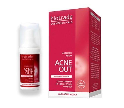 BIOTRADE Acne Out Cream 30ml - Acne Pimples Treatment