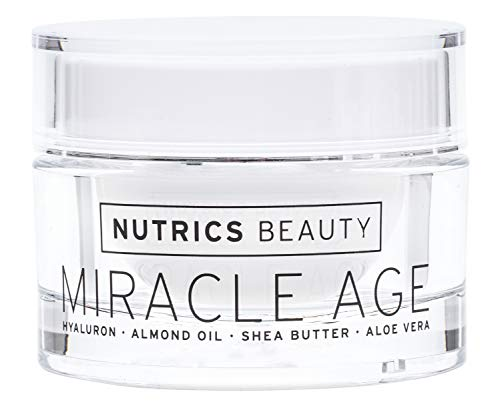 Nutrics Beauty | Anti Age Tages und Nachtcreme | Hyaluronsäure + Aloe Vera + Shea Butter | 50 ml |...