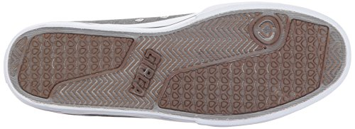 C1RCA - Lopez50, Sneaker basse Unisex - Adulto Charcoal/White