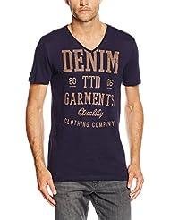 Tom Tailor Denim Slub Ttd Garments Print Tee, T-Shirt Homme
