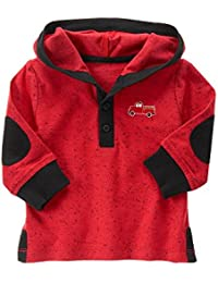 Gymboree Baby Boys' Red Firetruck Hooded Sweater