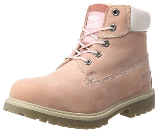 Dockers by Gerli Unisex-Kinder 35FN701-300760 Combat Boots, Pink (Rosa), 32 EU