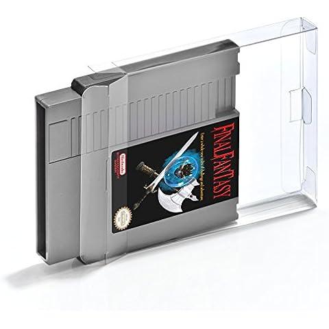 5 Nintendo NES Modulos cajas/fundas protectoras para juegos