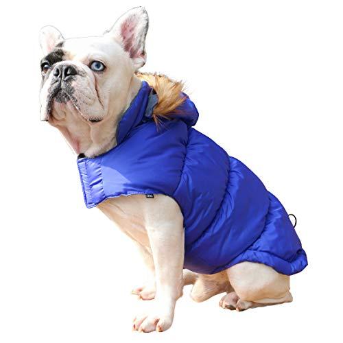 Withu Windproof Warmer Hundemantel Gepolsterte Jacke Pet Kleidung -