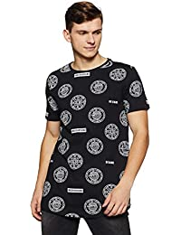 Sf Jeans By Pantaloons Men's Tribal Slim Fit T-Shirt