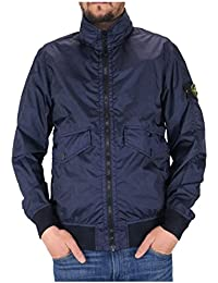 Stone Island Men's Jacket Color Navy Blue Membrane 3L TC