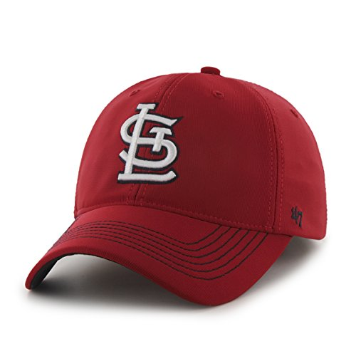 st-louis-cardinals-47-brand-mlb-game-time-stretch-fit-hat-red