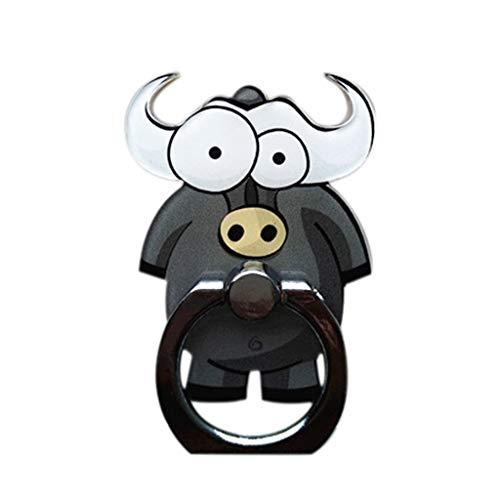 UOWEG Ständer Cartoon Zebra Ringschnallenhalter Entzückender Fingerständer für Smartphone - Swivel Mount Dock
