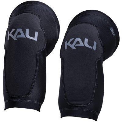 Kali Protectives 0410117127Kniebandage Fahrrad-Unisex Erwachsene, schwarz/grau, Größe: L