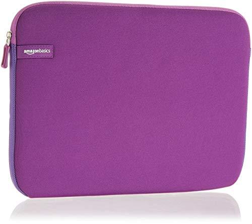 AmazonBasics Laptop-Schutzhülle,13,3 Zoll, Lila