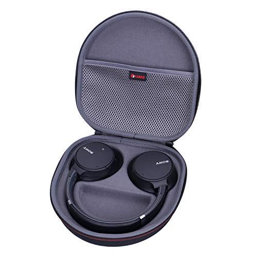 XANAD Étui de Transport Rigide pour Sony WH-CH700N Or Sony XB950B1 Casque sans Fil Bluetooth (Gris)