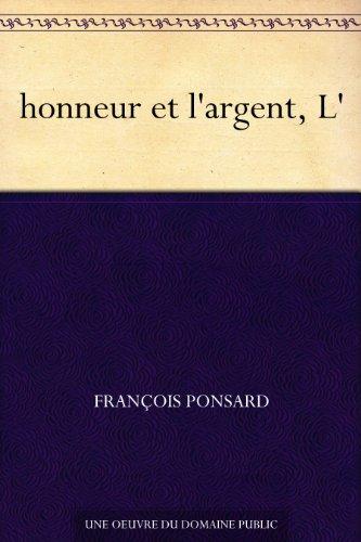 Couverture du livre honneur et l'argent, L'