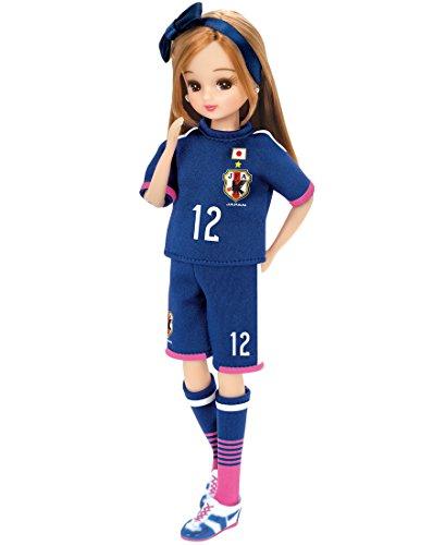 Rika-chan poupée modèle Nadeshiko Japan 2015