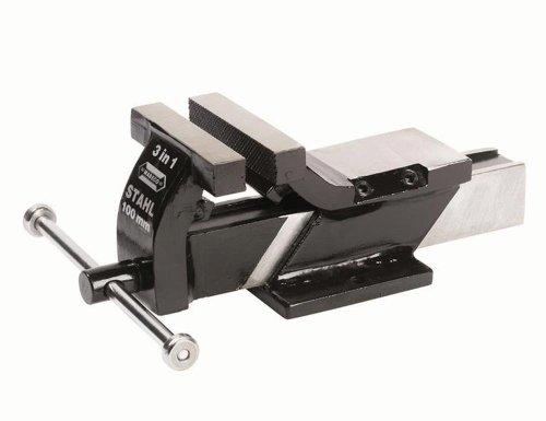 Preisvergleich Produktbild 40103 Wabeco Schraubstock Stahl 125mm