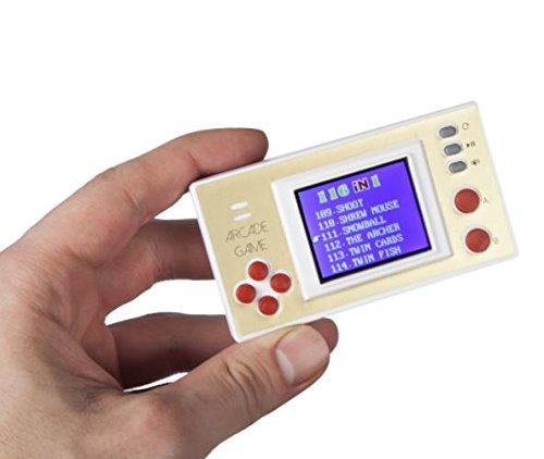 andheld Konsole - inkl. 116 8-Bit Spielen (Echte Videospiel Kostüme)