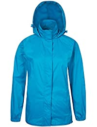 Chaqueta impermeable Mujer compresible con capucha