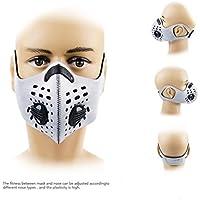 AKUKA Aktivkohle Staub Maske mit extra Filter für City Pendeln, Laufen, Radfahren, Motorrad und alle Outdoor-Aktivitäten preisvergleich bei billige-tabletten.eu