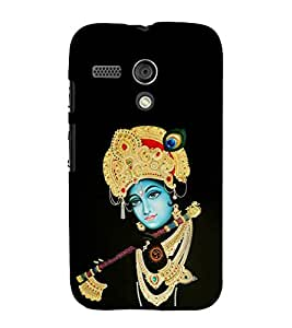 FUSON Krishna Playing Basuri 3D Hard Polycarbonate Designer Back Case Cover for Motorola Moto G :: Motorola Moto G (1st Gen) :: Motorola Moto G Dual