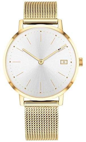 Tommy Hilfiger Womens pippa montre or bracelet en maille de ton 1781927