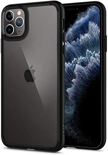 Spigen Ultra Hybrid Funda iPhone 11 Pro, Compatible con Apple iPhone 11 Pro (5.8') 2019 - Black