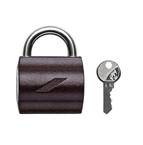 Godrej Locks MyLocks Padlock with 2 Keys (Texture Brown)