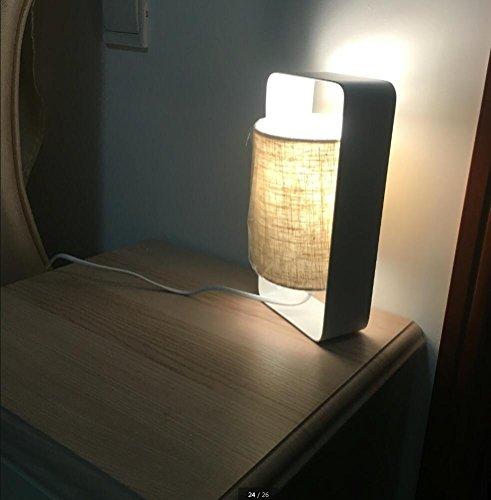 WSXX Einfache Moderne Tischlampe Schlafzimmer Nachttischlampe Kreative Persönlichkeit Golden 26Cm * 13,2.