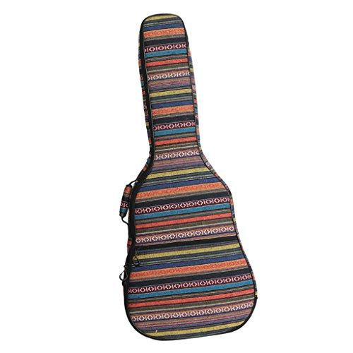 """D DOLITY 40/41\"""" Gitarre Taschen Gig Bag Guitar Bag Gitarrenhülle Für Akustikgitarre und Klassikgitarren - Bunt 2#"""