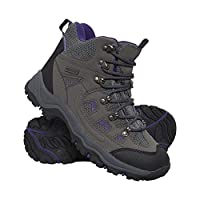 Mountain Warehouse Adventurer Womens Boots - Waterproof Rain Boots, Synthetic & Textile Walking Shoes, Added Grip Ladies Shoes - Footwear for Hiking & Trekking