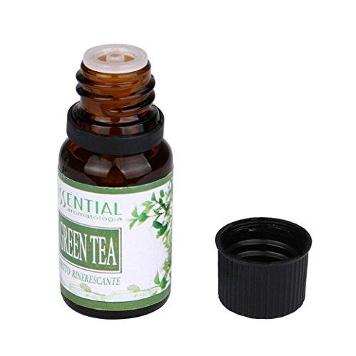 BeautyTop Grüner Tee, Naturreines ätherisches Öl Aromatherapie Duft Hautpflege- 10ml