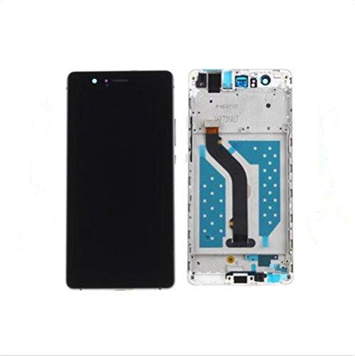 Huawei P9 lite Display im Komplettset LCD Ersatz Für Touchscreen Glas Reparatur (Schwarz + rahmen)