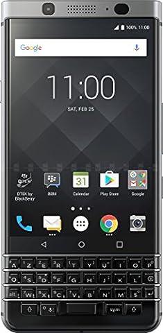 BlackBerry Keyone Smartphone débloqué 4G (Ecran: 4,5 pouces - 32 Go - SIM - Android Nougat 7.1) Argent