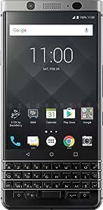 BlackBerry Keyone Smartphone débloqué 4G (Ecran: 4,5 pouces - 32 Go - SIM - Android Nougat 7.1) Argent Azerty