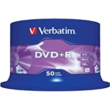 Verbatim (43550) : DVD+R 16x 50-pack :  Optical Media