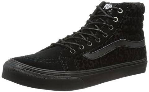 Vans U SK8-HI SLIM (CHEETAH) BLACK VQG39TT, Unisex-Erwachsene Sneaker, Schwarz