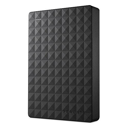 Seagate STEA4000400 Expansion 4 TB USB 3.0 Portable 2.5 Inch External Hard Drive for PC, Xbox One and PlayStation 4 - Black