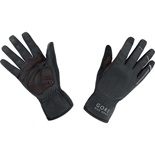 Gore Bike Wear Universal Windstopper - Guantes unisex, color negro (black), talla 8