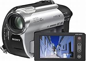 Sony DCR-DVD106 Camcorder (DVD, 40-fach opt. Zoom, 6,4 cm (2,5 Zoll)Display)