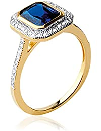 ISADY - Isalline Gold - Women's Ring - 750/000 (18 Carat) Gold - Cubic Zirconia