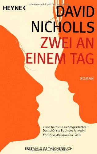Buchseite und Rezensionen zu 'Zwei an einem Tag' von David Nicholls
