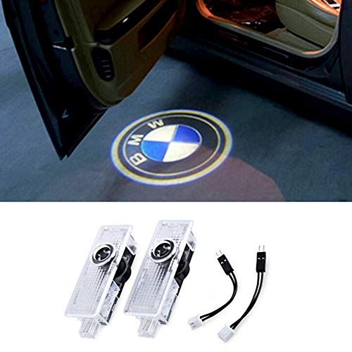 Auto Projektor,Autotür Lichter LED Logo Projektor Lampe Symbol Emblem Courtesy Licht,Schatten Logo Licht für Autotür 2 Stück