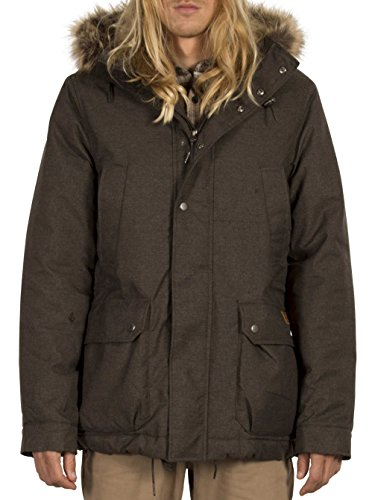 Volcom Herren Parka Heather Black